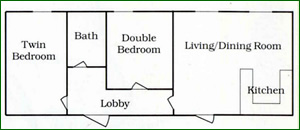 Oak Cottage floor plan