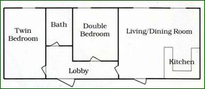 Oak Cottage floor plan