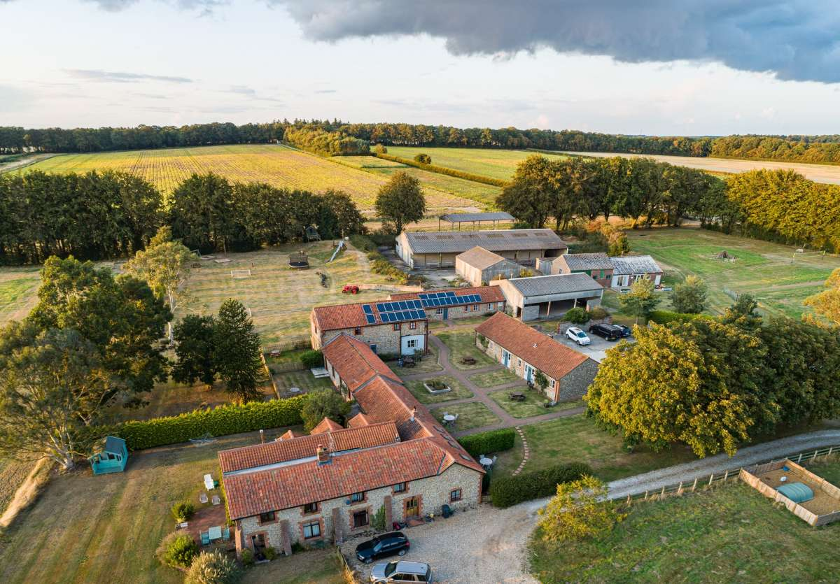 Wood Farm Cottages in North Norfolk