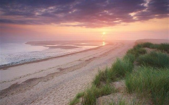 The beautiful beaches of North Norfolk are close by at Wood Farm Cottages